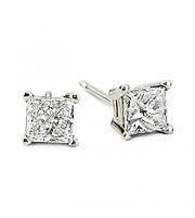 2.05 ct Clarity Enhanced Earrings
