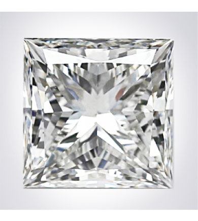 1.64 ct Princess Clarity Enhanced