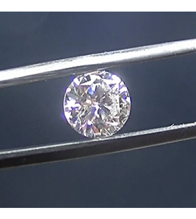 3.94 ct Oval Brilliant Laser Drilled Diamond