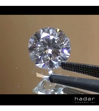 1.05 ct E, Internally Flawless, GIA HPHT