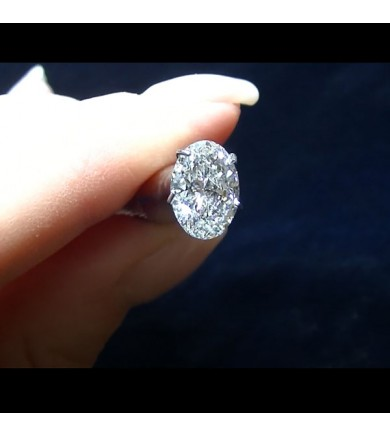 1.80 ct Oval Brilliant Laser Drilled Diamond