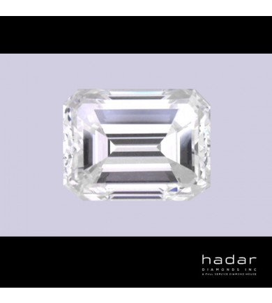 1.99 ct Emerald Cut natural hpht diamond