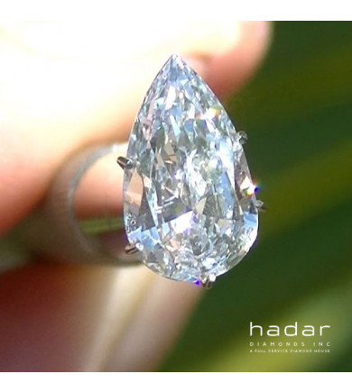 2.01 ct GIA Pear Brilliant HPHT Diamond