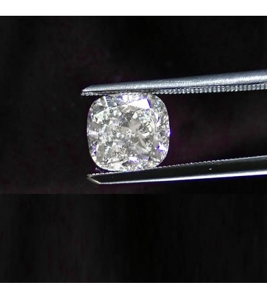 2.05 ct Cushion Cut Diamond Laser Drilled