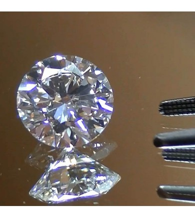 2.01 ct Round Brilliant GIA HPHT, Excellent Cut