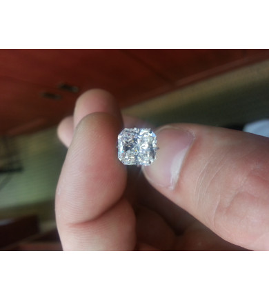 2.00 ct Radiant Brilliant, Laser Drilled Diamond