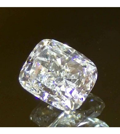 2.05 ct Cushion Laser Drilled