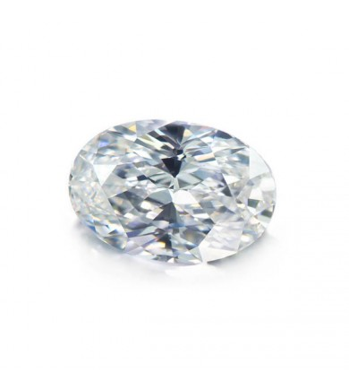 2.50 ct Oval Diamond, Clarity Enhanced