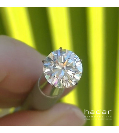 3.01 ct Round Brilliant Diamond, laser drilled [Sale Pending]