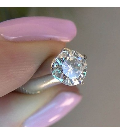 .59 ct GIA Round, Top D color