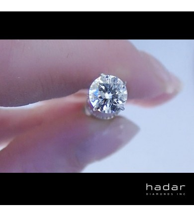 .75 ct Round Brilliant Diamond (no enhancements)
