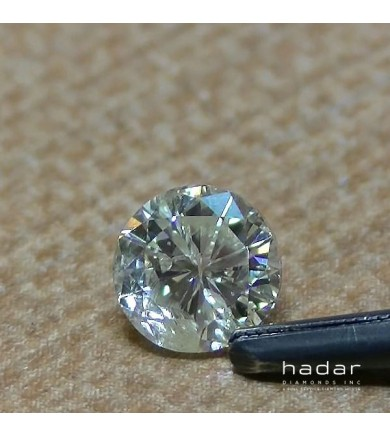 .96 ct Round Brilliant, laser drilled diamond
