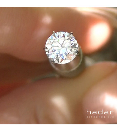 1.02 ct D, VVS2, Triple Excellent, GIA HPHT