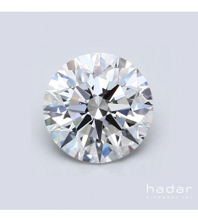1.58 ct GIA Round Brilliant Diamond, natural hpht