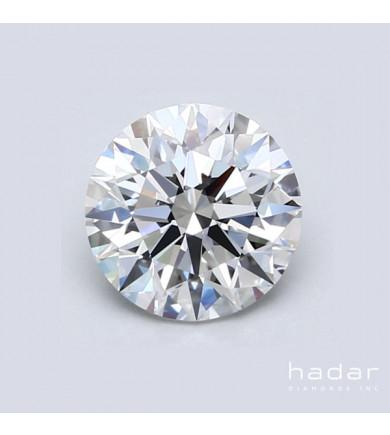 1.58 ct GIA Round Brilliant Diamond, natural hpht