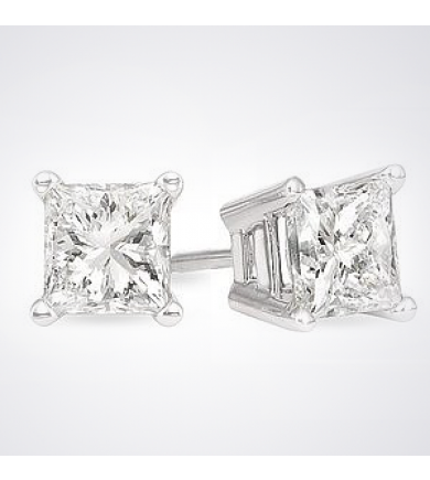 Diamond Studs .99 tcw Clarity Enhanced