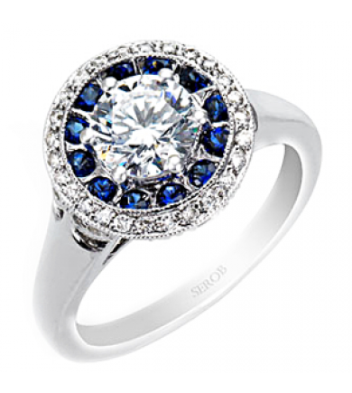 Halo Engagement Ring KS9016-R