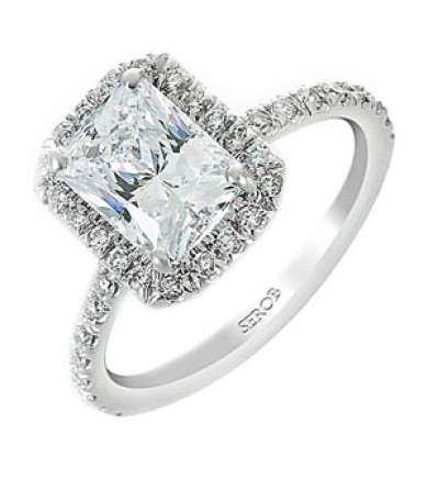 Halo Engagement Ring KS6392-R