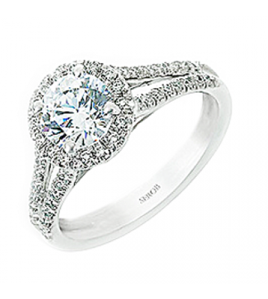 Halo Engagement Ring KS9065-R