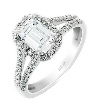 Halo Engagement Ring KS9064-R