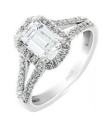 Halo Engagement Ring KS9064-R