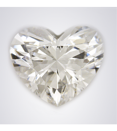 0.4 ct Heart Cut Diamond