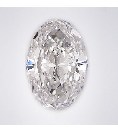 1.04 ct Oval Brilliant Laser Drilled Diamond