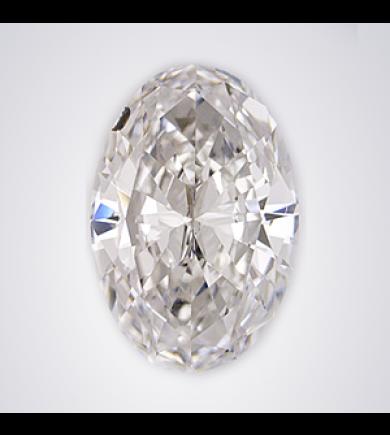 1.53 ct Oval Brilliant Laser Drilled Diamond