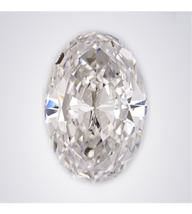 1.82 ct Oval Brilliant Laser Drilled Diamond
