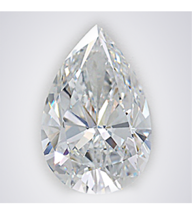 1.72 ct Pear Brilliant Laser Drilled Diamond