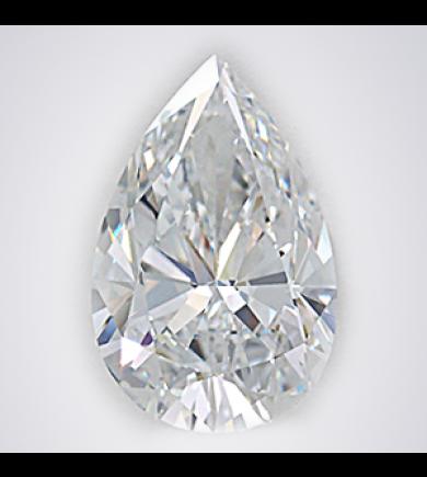 1 ct Pear Cut Diamond