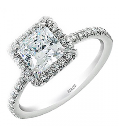 Halo Engagement Ring KS6393-R