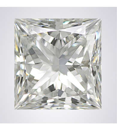 0.74 ct Princess Cut Diamond