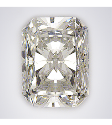 1.55 ct Radiant Cut Clarity Enhanced Diamond