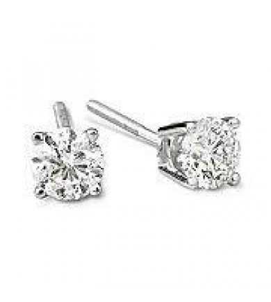 1.41 ct GIA Diamond Earrings