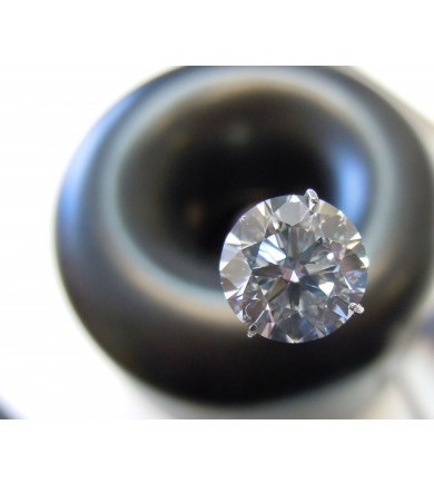 2.62 ct Round Brilliant Laser Drilled Diamond