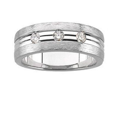 "The ""Aviator"" Men's Wedding Band"