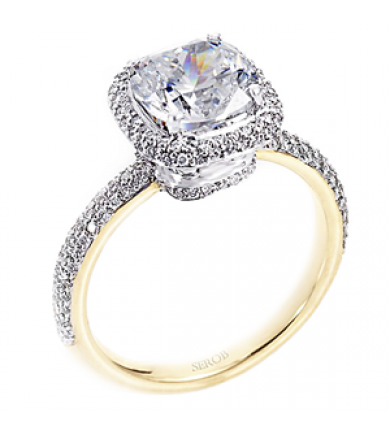 Halo Engagement Ring KS6169-R