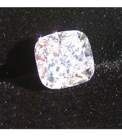 2.28 ct Cushion Laser Drilled