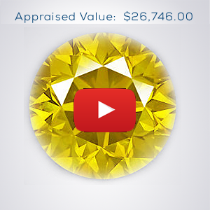 yellow diamond value