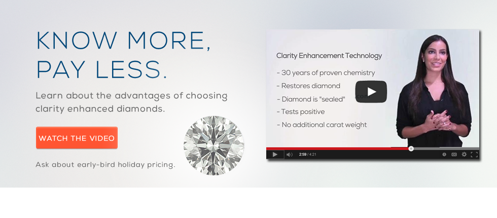About Clarity Enhanced Diamonds