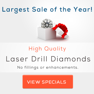 Laser Drilled Diamonds