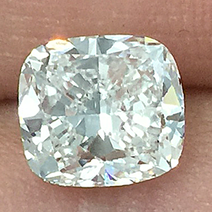Clarity Enhanced Cushion Cut Diamond