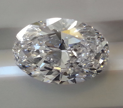 HPHT Oval Diamond