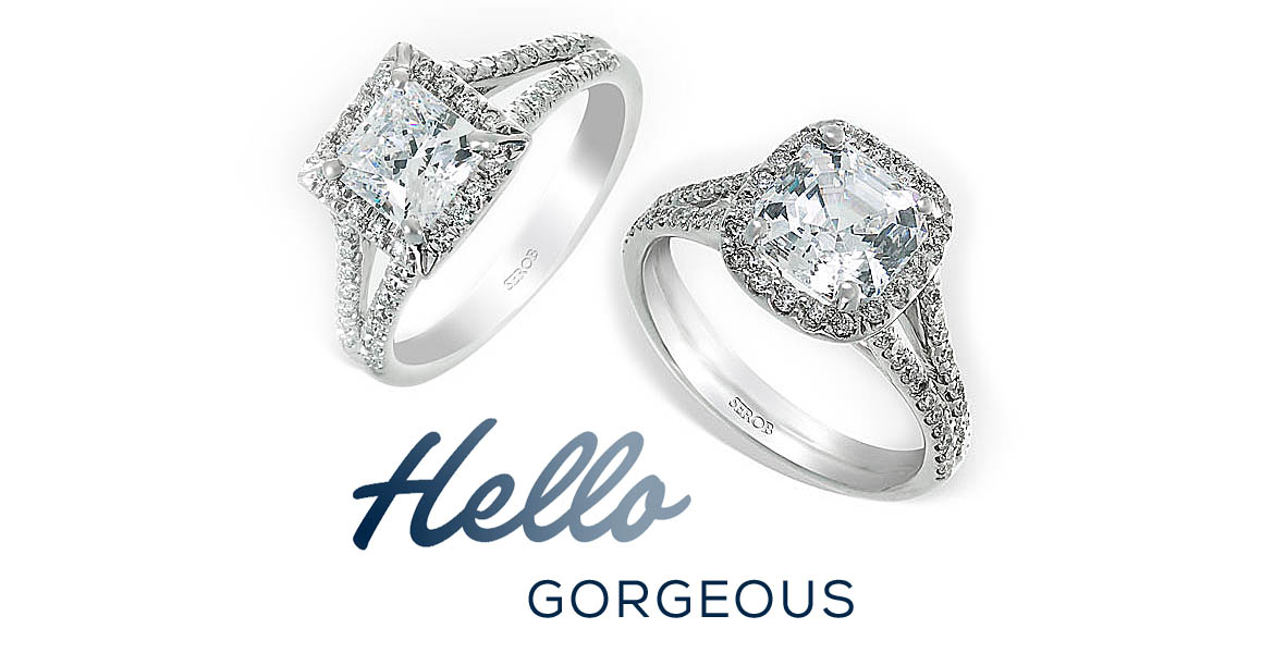 Custom Designed Diamond Engagement Rings