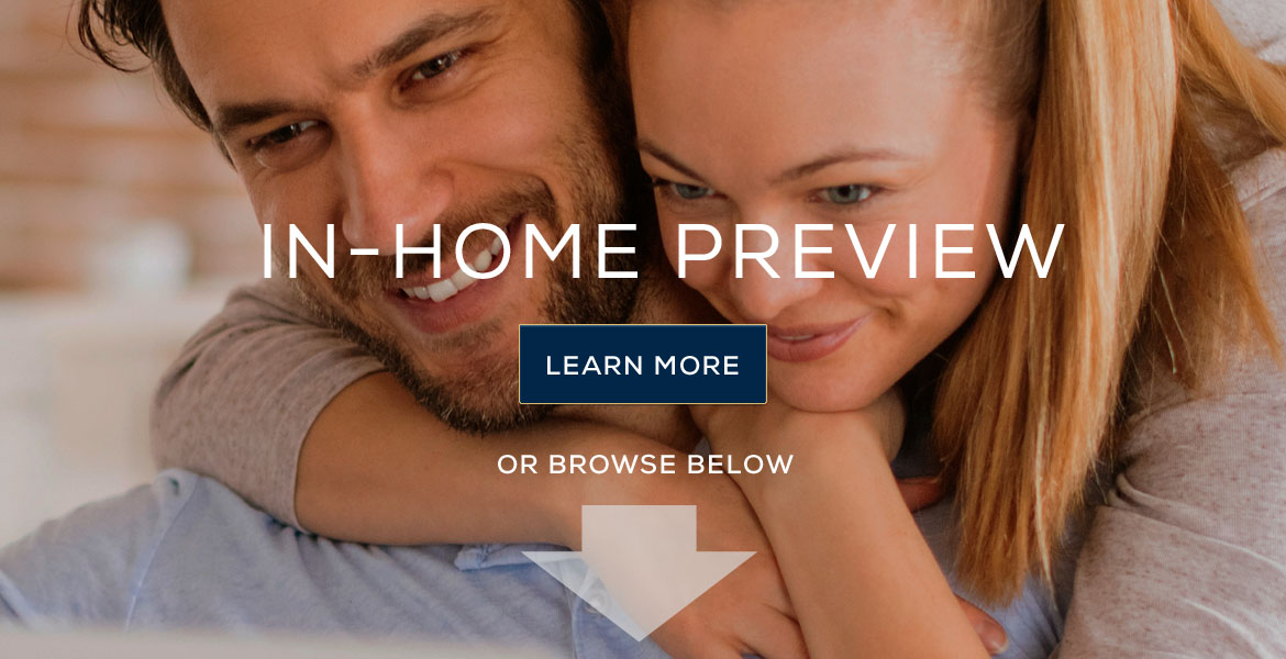 In-home diamond preview