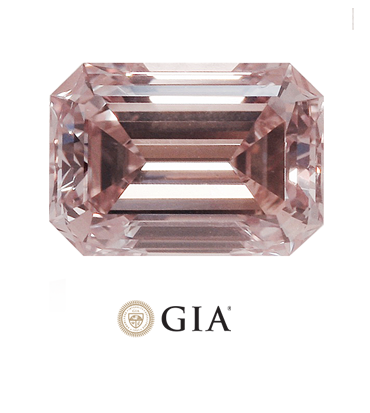 GIA Certified Pink HPHT Diamonds