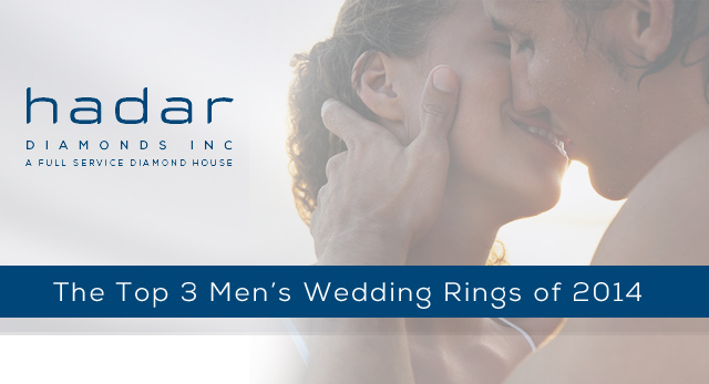 Blog: Top 3 Men's Wedding Rings of 2014: Review by Hadar Diamonds